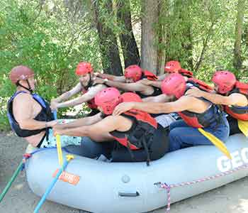 Certified Whitewater Rafting Guides Safety Training